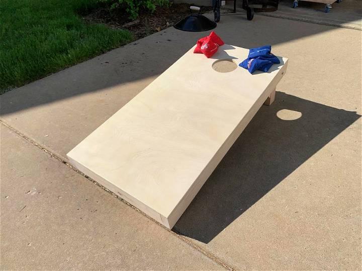 Plywood Cornhole Board