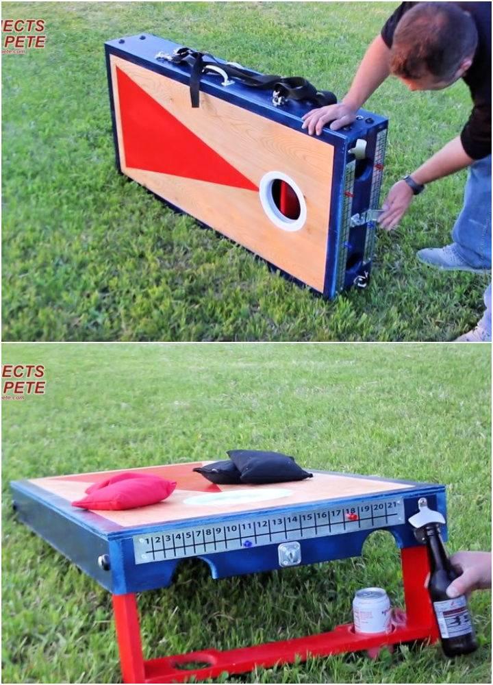 Portable Cornhole Board