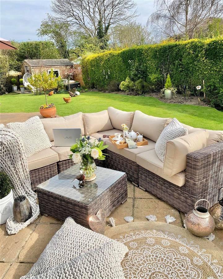 The Rattan Garden Furniture Trends