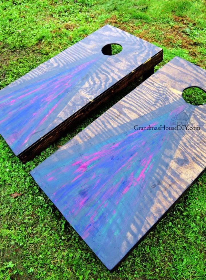 Unicorn Spit Cornhole Boards
