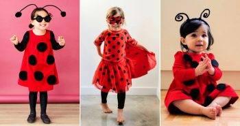 13 Simple DIY Ladybug Costume Ideas to Make for Halloween