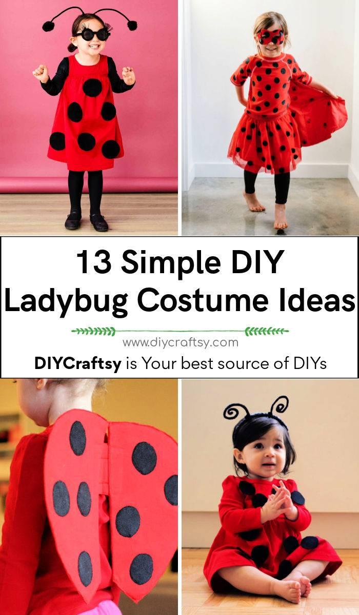 13 Simple DIY Ladybug Costume Ideas to Make for This Halloween