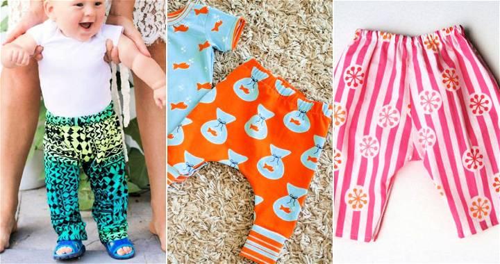 15 Free Babies Pants Pattern to Sew
