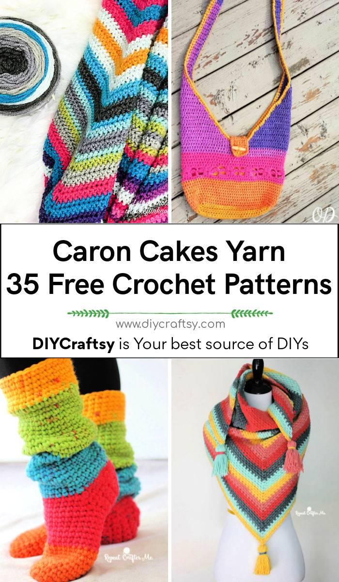 35 Free Crochet Caron Cakes Yarn Patterns