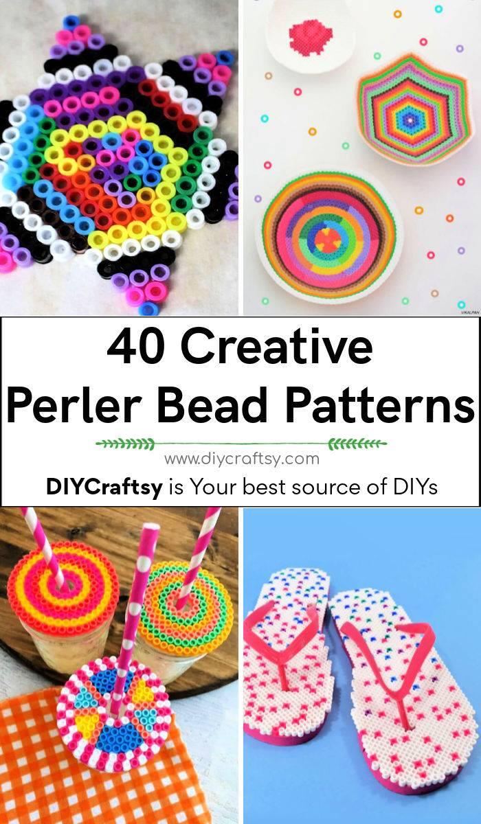 40 Best Perler Bead Patterns Designs and Ideas