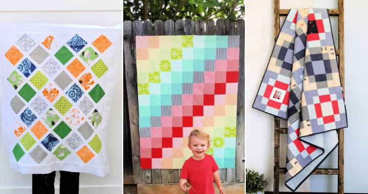 40 Free Baby Quilt Patterns for Beginners with PDF to Download