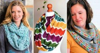 40 Free Infinity Scarf Crochet Patterns