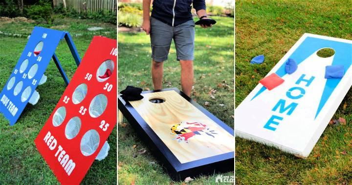 55 Best DIY Cornhole Board Plans