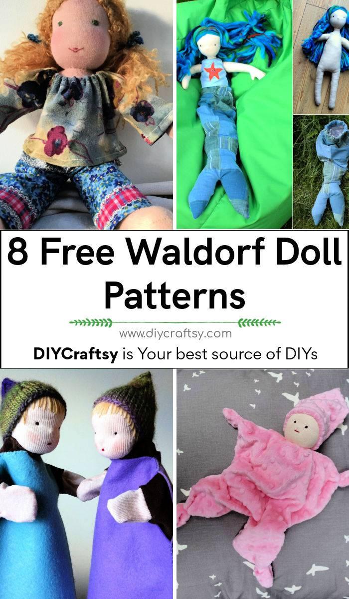 8 Free Waldorf Doll Patterns How to Make Waldorf Dolls