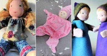 8 Free Waldorf Doll Patterns How to Make a Waldorf Doll