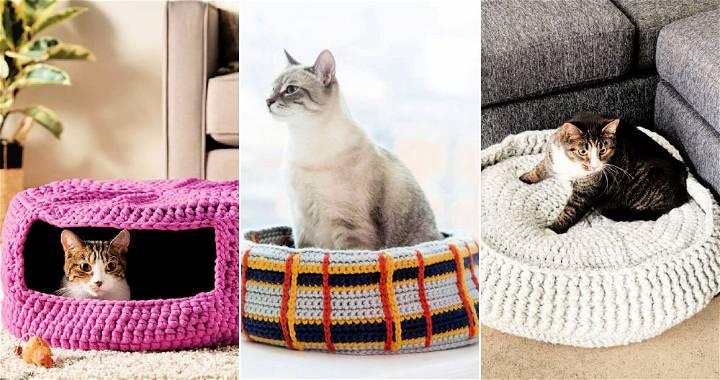 Free Crochet Cat Bed Pattern