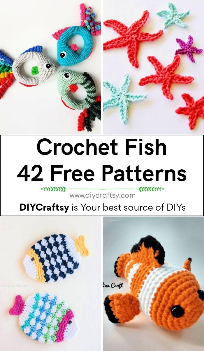 Free Crochet Fish Patterns
