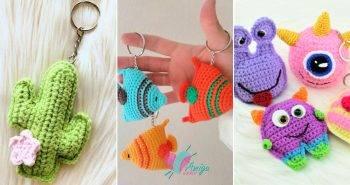 Free Crochet Keychain Patterns