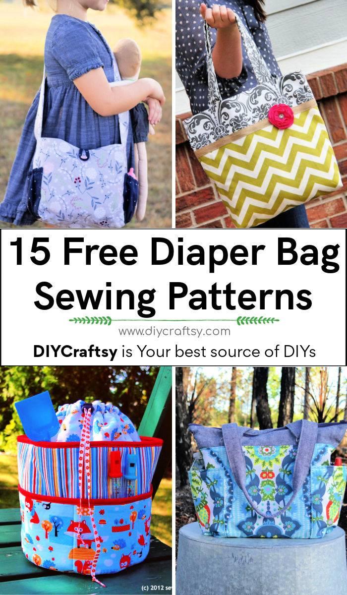 Free DIY Diaper Bag Patterns