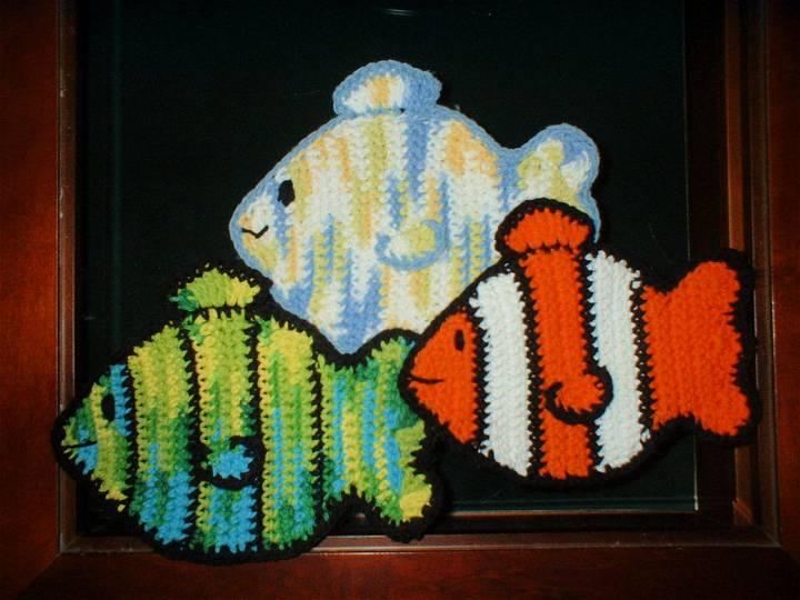 Free Fish Potholder Pattern