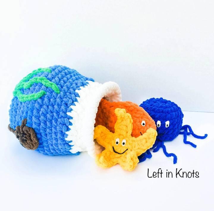 Stuff And Spill Fish Bowl Free Crochet Pattern
