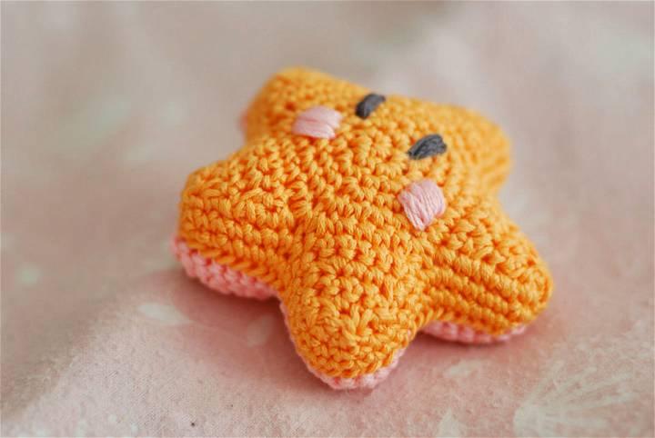 The Littlest Bashful Starfish Crochet Pattern