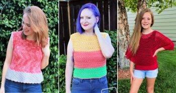 easy crochet top patterns for beginners