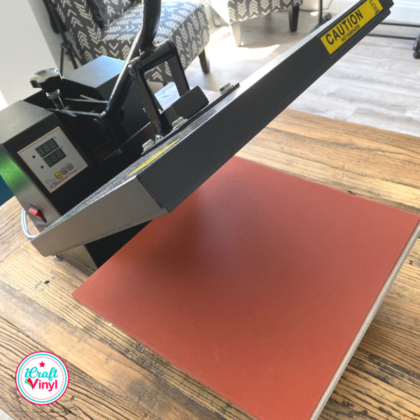 How to Apply HTV with Heat Press