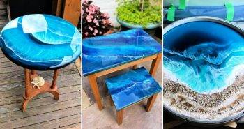 How to Make an Ocean Table at home