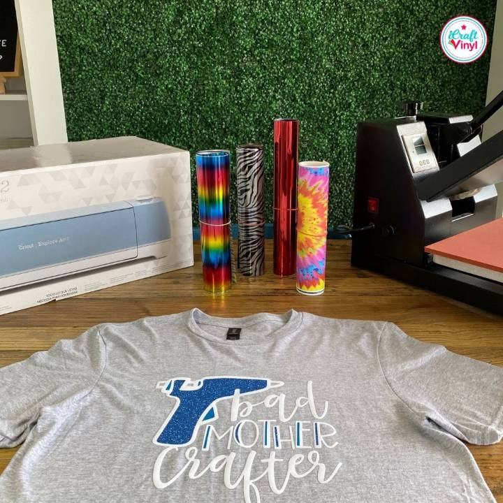 How to Use Heat Transfer Vinyl on Shirts