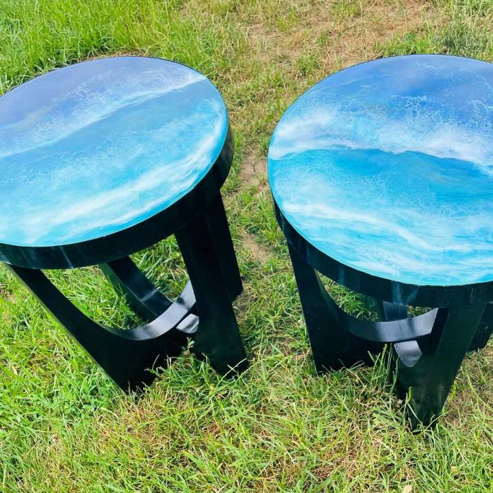 how to make an ocean table