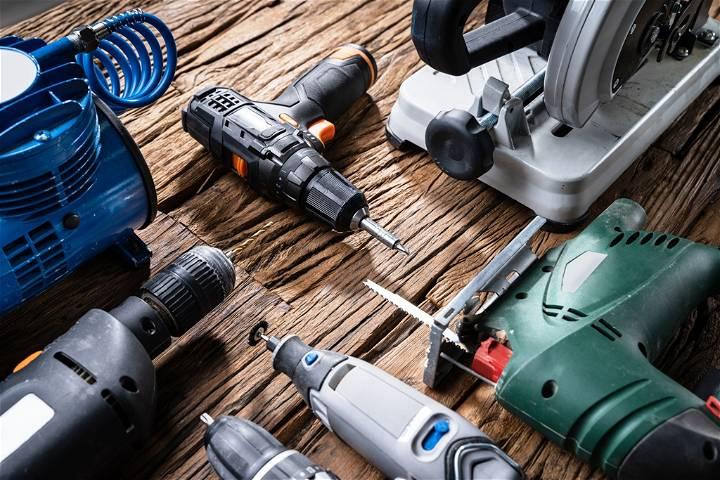 DIY Workshop Tools And Equipment