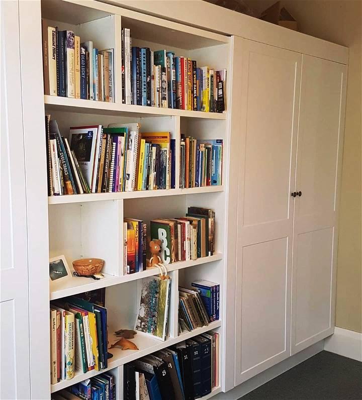 Fake Book Collection Secret Storage Idea