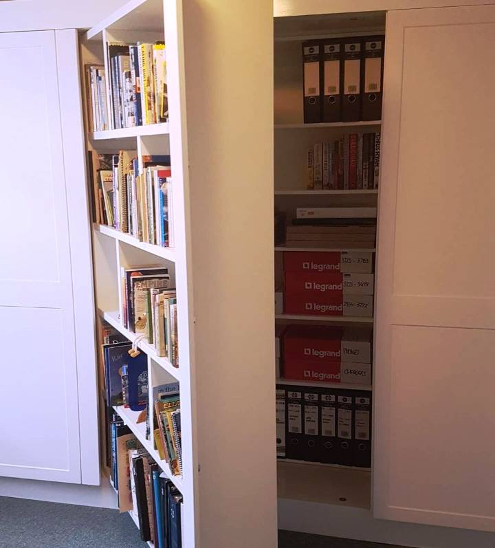 Fake Book Collection Secret Storage