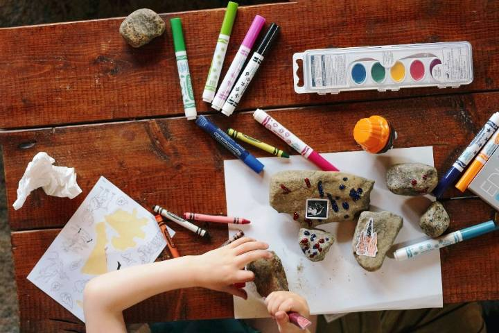 seven craft ideas to help your child look forward to the start of school