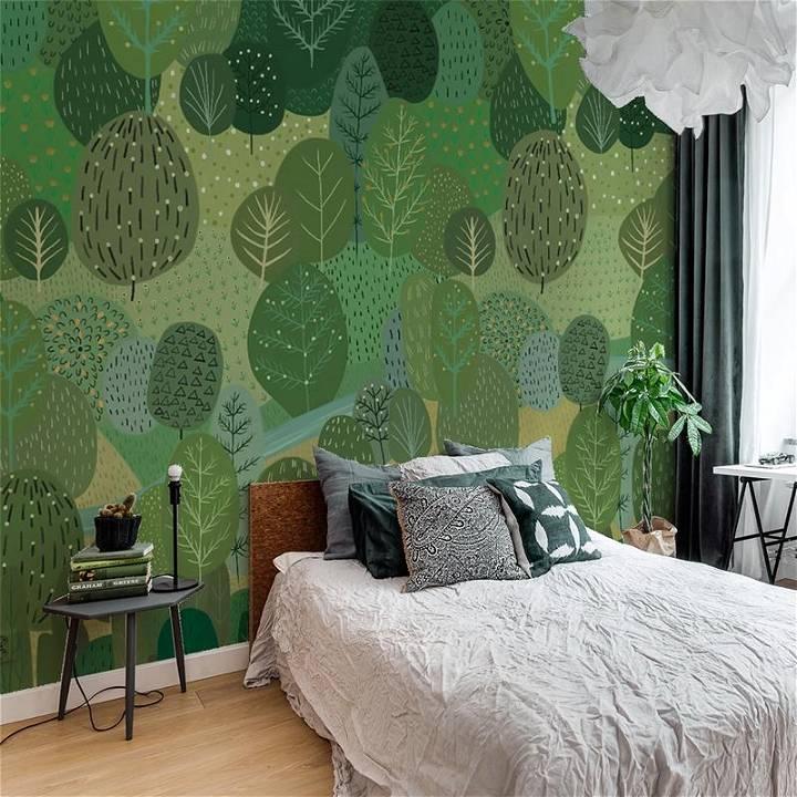 vitality wallpaper mural for living room 1
