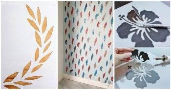 20 Unique Ideas To Make A Stencil at Home